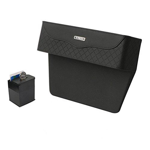 EDJIAN Premium PU-Leder Seite Pocket Organizer Auto Upgraded Seat Filler Gap Raum Aufbewahrungsbox Card Halter Münze Collector Auto Innen Zubehör 2 -