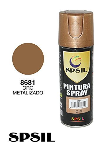 SPRAY PINTURA COLOR ORO METALIZADO 200 ML. 8681
