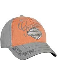 343d76c2 Harley-Davidson Women's Embellished Bar & Shield Baseball Cap Washed  BC114479