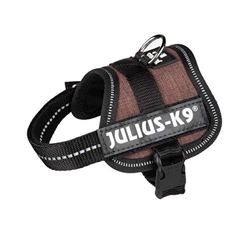 Julius-K9 162SC-CS-BB1 162SC-CS-BB1, K9 Powergeschirr, hundegeschirr, Größe: Baby 1, Mokka Sackstoff