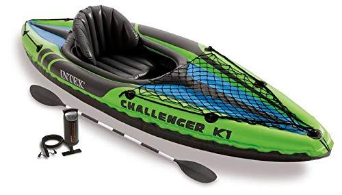 Intex 68305NP - Kayaks deportivos (Kayak inflable, 1 personas(s), 100 kg, PVC,...