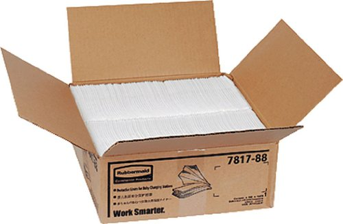 Rubbermaid Tücherbox für Baby Wickeltisch/7817-88-WHT 43,2x31,8x weiß