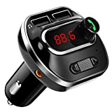 Best Adaptateurs de voiture - ARINO Transmetteur FM Bluetooth Kit de Voiture Sans Review