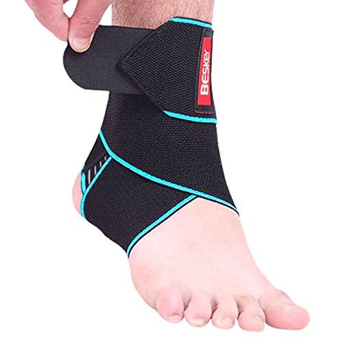 Beskey Ankle Support Adjustable Ankle Brace...