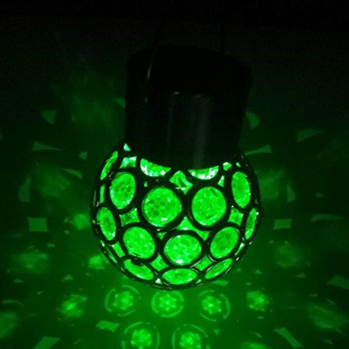 SunniMix Solarleuchten Für Garten Außen, Solarlampen Hängeleuchte Außenleuchte Hängelampe Decke Hof Garten Beleuchtung - Bunt