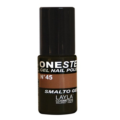 Layla 1646R25-045 One Step Smalto per Unghie, Safari Numero 45