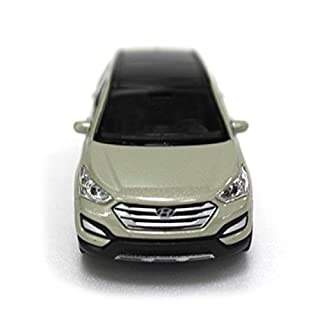 [Sell by Automotiveapple] Hyundai Brand Collation Mini Car 1:38 Maßstab einzigartig Miniature Diecast Model 1-pc For 13 14 Hyundai Santa Fe SPORT : DM (Mistic Beige)
