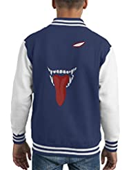 Hell Face Hellsing Kid's Varsity Jacket
