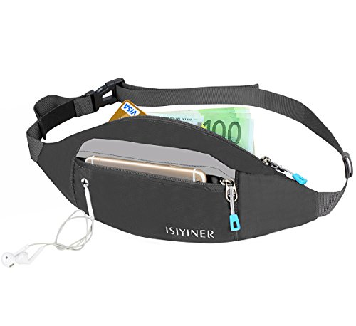 Gürteltasche Bauchtasche Sport Wasserdicht Mit einem Kopfhöreranschluss Lauftasche für Laufen Radfahren Wandern Camping