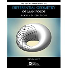 Differential Geometry of Manifolds (Textbooks in Mathematics) (English Edition)