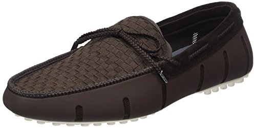 Swims Lace Loafer Woven, Mocassins homme Marron - Braun (Brown/White 025)