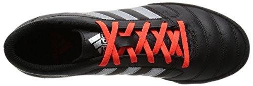 adidas Gloro 16.2 Tf, Scarpe da Calcio Uomo Nero (core Black/silver Metallic/solar Red)