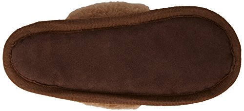 Woolsies - Camelini Natural Wool Mule Slippers, Scarpe Rivestimento da donna Marrone (Braun)