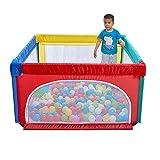 Bettgitter HUO Babyzaun tragbarer Kinderspielzaun 70cm Höhe-6 Größe optional (größe : 120 * 120cm)