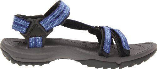 Teva W Terra Fi Lite, Sandales femme Bleu (Double Zipper Blue)