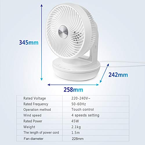 MYCARBON Ventilator lüfter 68m/S Bild 6*