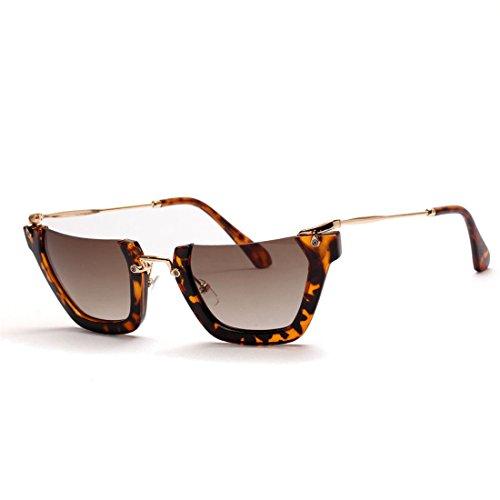 GUO Die Sonnenbrille Hälfte Frame Mode Sonnenbrille, personalisierte Straße schießen