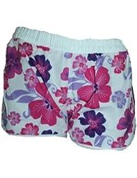 Damen Badeshorts NEMO viele FARBEN. Hot Pants, Hipster mit Blumen Muster BG940 Größen: Gr.32/S 34/M 36/L 38/XL 40/XXL