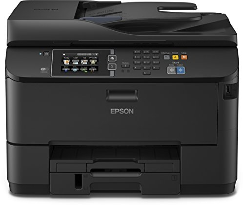 Epson WorkForce Pro WF-4630DWF - Impresora multifunción de tinta (color 30 PPM, 4800 x 1200 DPI), color negro