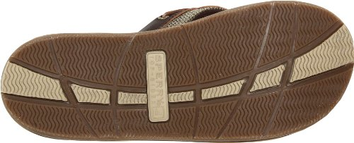 Keds Kids Sperry Bluefish Thong yb42399, Chaussures à lacets fille Marron-TR-SW967