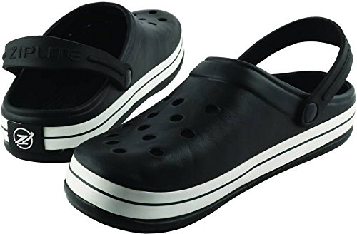 98fd79360558a Plush Men s Black PVC Crocs Shoes - 7 - Aks Deals