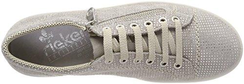 Rieker Damen M6012 Sneaker Grau (Staub)