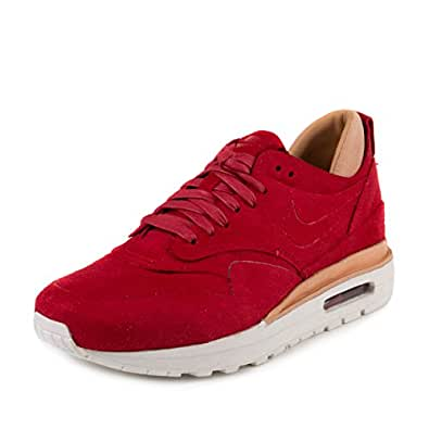 Nike Women's Wmns Air Max 1 Royal Sneakers Red Size: 6.5 UK