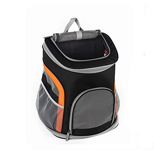 Haustier Tasche JPPCWB Premium Pet Carrier Rucksack für kleine Katzen und Hunde | Belüftetes Design, Sicherheitsgurt, Schnallenhalter | Entwickelt für Reisen, Wandern und Outdoor -