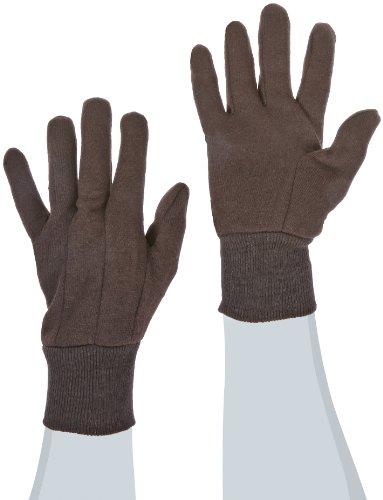 Preisvergleich Produktbild WEST CHESTER 65090 / L Jersey Knit Wrist Glove,  Large,  Brown,  1-Pair by West Chester