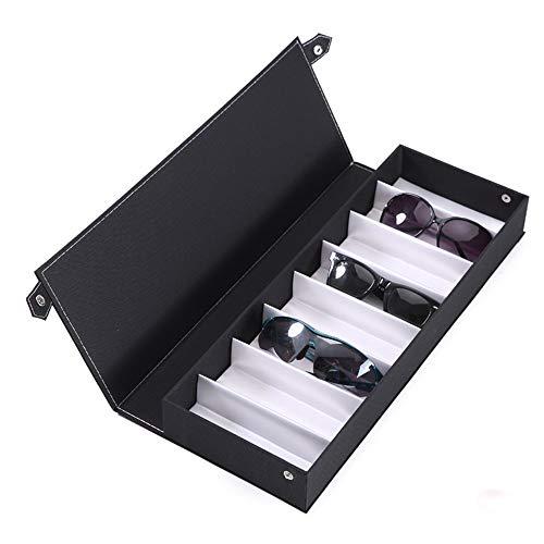 Zhongsufei Sonnenbrille Aufbewahrungsbox Sonnenbrille Vitrine Sunglass Eyewear Display Storage Case Tray -