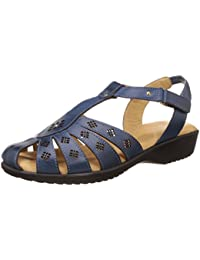 Scholl Women's Paris Closed Sandal Leather Fashion Sandals