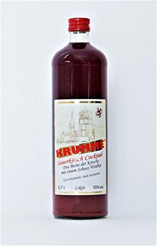 Krumme Spirituosen Tepel & Haase GbR Sauerkirsch Cocktail 15%