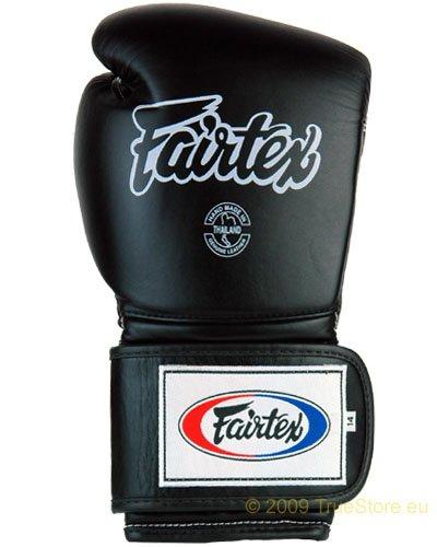 fairtex boxhandschuhe Fairtex Heavy Hitter's Boxhandschuh - Mexican Style (BGV9), schwarz, 12 UNzen