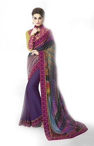 Mahotsav Art Silk Saree (9412_Purple)  available at amazon for Rs.2010