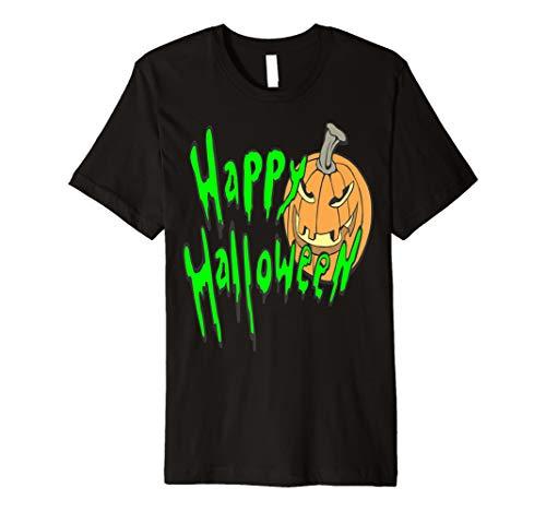 Glückliches Halloween-Kürbis Jack O Lantern-T-Shirt