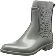 Tommy Knit Rain Boot, Botas de Agua para Mujer, Azul (Midnight 403), 39 EU Tommy Hilfiger