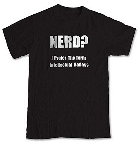 nerd-i-prefer-the-word-intellectual-badass-black-short-sleeve-t-shirt-from-our-unique-t-shirt-range-