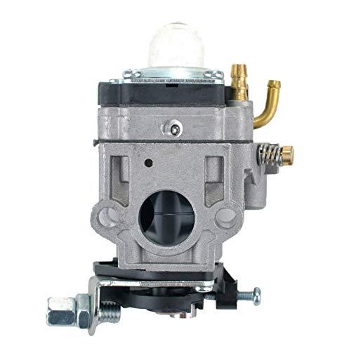 Laliva Vergaservergaser für 40cc 43cc 49cc Motor 2-Takt Mini-Choppers ATV Pocket Bikes Quad Heckenschere Bürstenschneider Teile (Mini-gas-chopper 49cc)