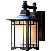 YYF Nuevo Estilo Chino Retro Aplique de Pared al Aire Libre Impermeable Lámpara de Pared Escalera
