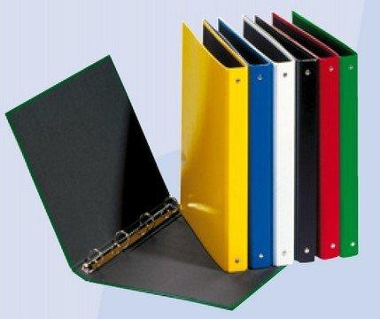 Pagna Ringbuch A4 Basic, 4-Ring-Mechanik, gelb