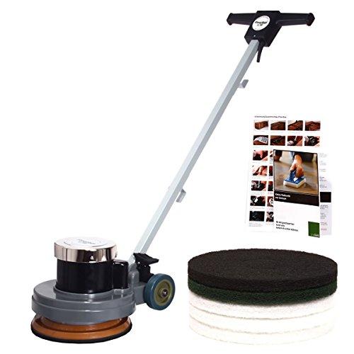 Preisvergleich Produktbild Floorboy XL 300 Starterset bestehend aus: Poliermaschine, Pads, Anleitungen und Padkunde von Bioraum