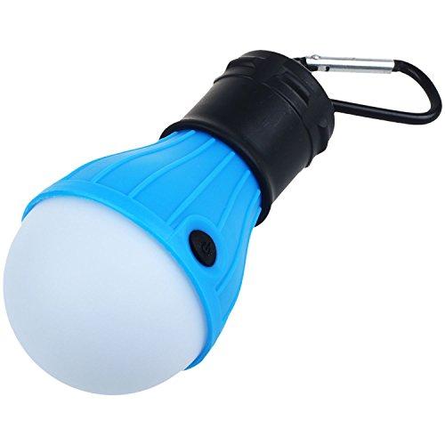 SODIAL Tragbare LED Laternen Camping Bergsteigen Camping Wandern Angeln Notbeleuchtung Batterie Campingausruestung Getriebe Gadgets Outdoor-und Indoor-Beleuchtung (mit Karabiner)
