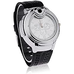 MOTUS Novelty Lighter Watch Lighter Watch White Dial