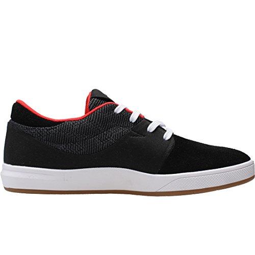 Globe Unisex-Erwachsene Mahalo SG Skateboardschuhe, Schwarz black knit/red/carlsen