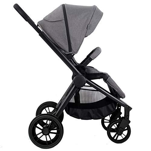 My Babiie Billie Faiers MB400 Grey Melange Pushchair Stroller  babieswithlove