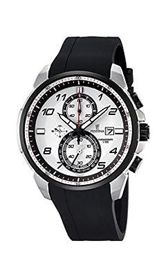 Festina F6841/1 - Reloj de pulsera hombre, Plástico, color Negro de Festina