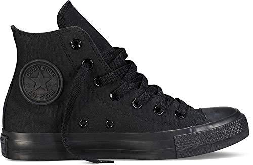 Converse Unisex Chuck Taylor All Star High Top Sneakers (8 D(M) US, Black Monochrome) (High-top Converse Frauen 8)