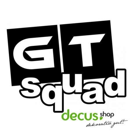 Decus GT Squad L 1912 // Sticker OEM JDM Style Aufkleber (Mint) -