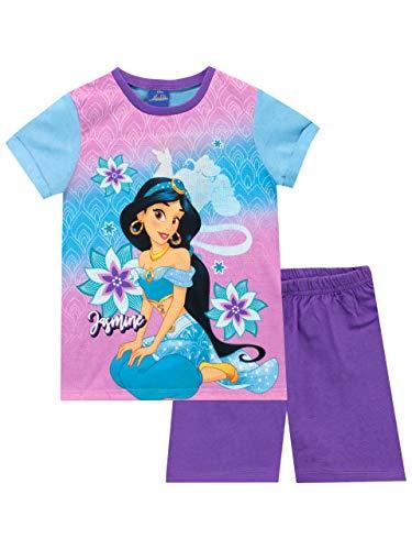 Disney Mädchen Aladdin Schlafanzug Jasmine Mehrfarbig 110 -