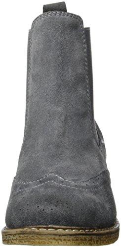 Laufsteg München Damen Hw160501 Chelsea Boots Grau (Grey)